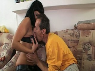 bitch grandpa horny