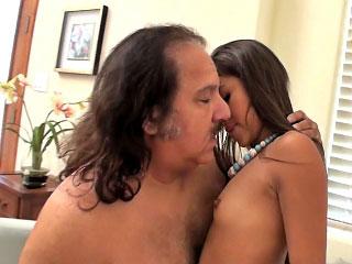 amazing brunette gaping