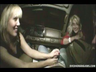 car handjob mom