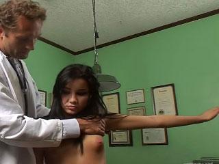 brunette sexy strip