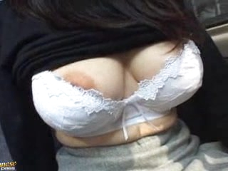 bus busty hairy