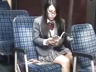 bus school schoolgirl