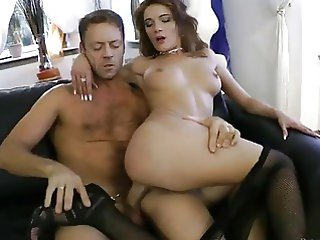 anal bus busty