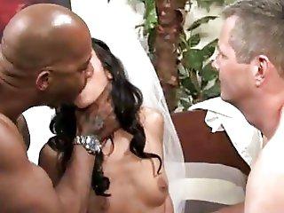 bride cuckold interracial