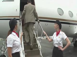 fucking stewardess