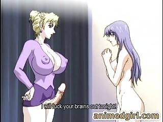 anime bus busty