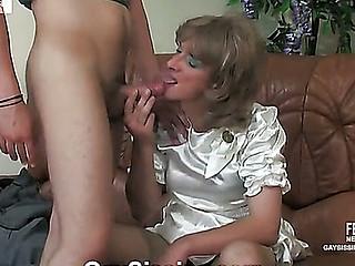 dress sissy white