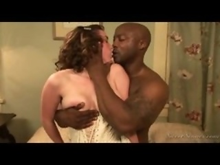ass corset interracial
