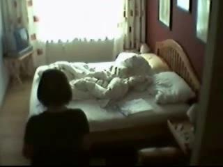 bed bedroom hidden cam