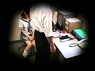 caught school schoolgirl