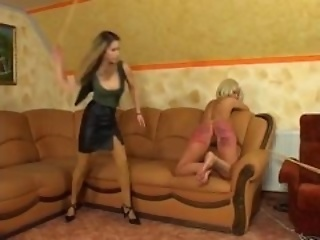caning teen