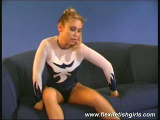 blonde erotic flexible