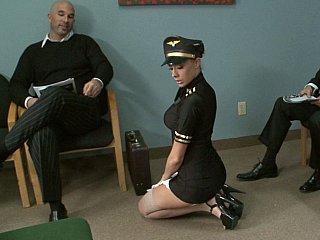 gorgeous stewardess