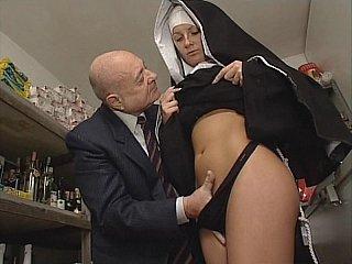 dirty nun old