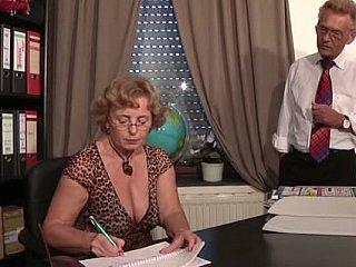 mature secret secretary