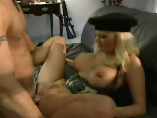 bimbo blonde military