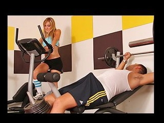 babe gym huge
