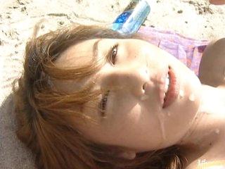 asian babe babe beach