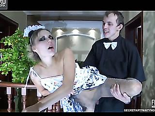 giving head legs waitress
