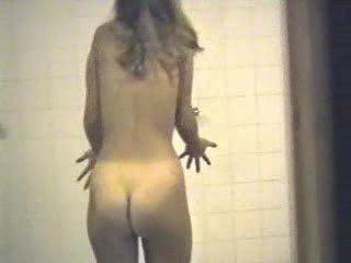 hidden cam shower teen
