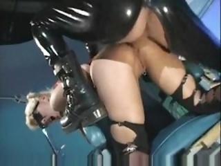 fetish latex rubber