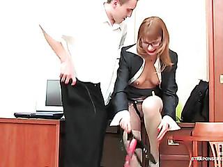 secret secretary strap-on