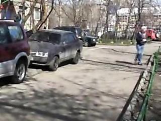 pissing street