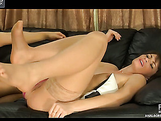 anal fingered red