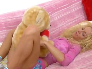 attractive blonde cunt