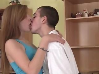 babe hardcore kissing